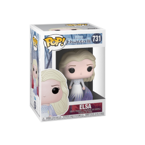 בובת פופ Funko POP! Frozen 2 : Elsa (Epilogue Dress)