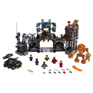 משחק הרכבה לגו LEGO Batcave Clayface Invasion